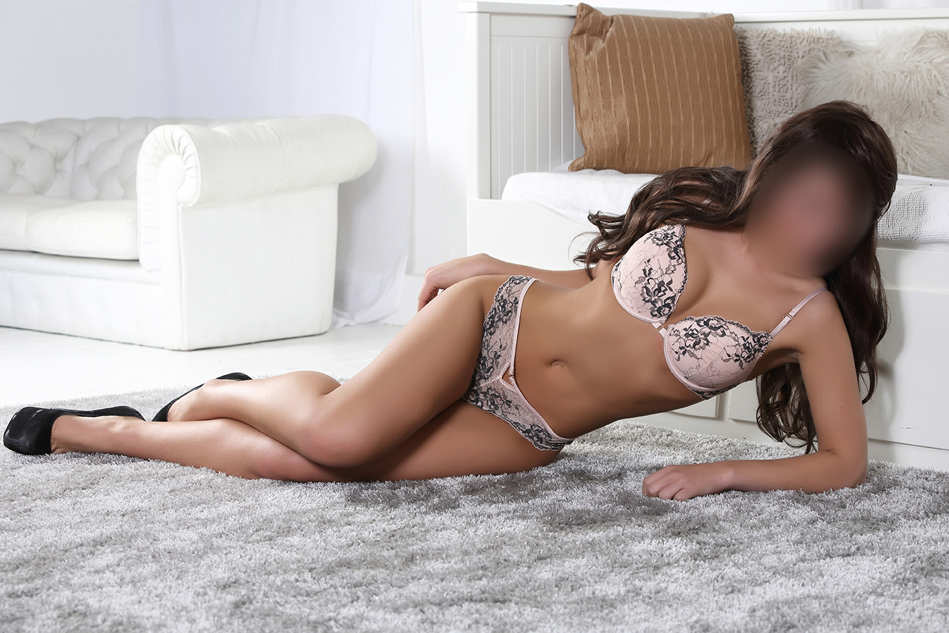Stunning and Petite Brunette - Kylie